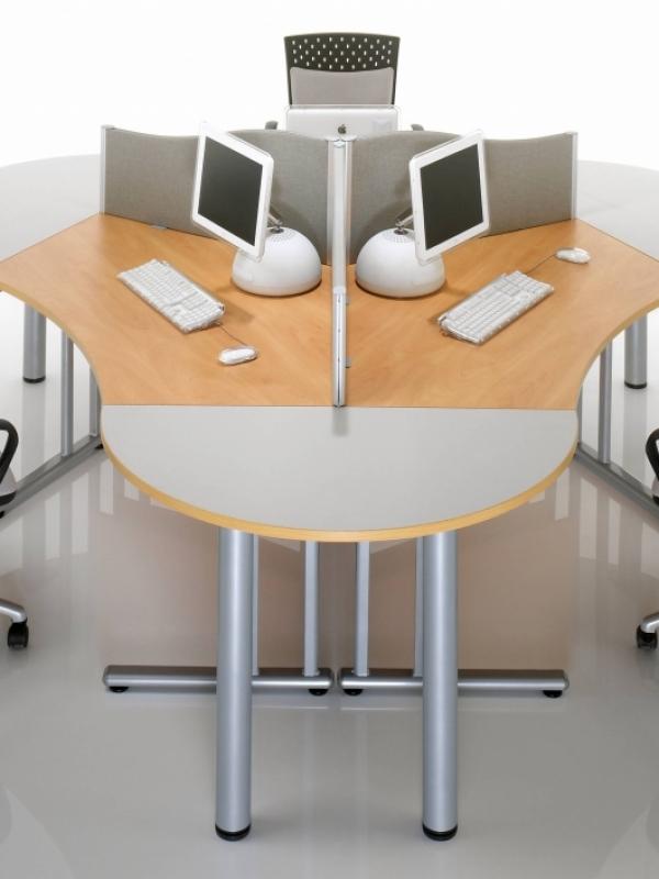 Group Office Desks Minimalist